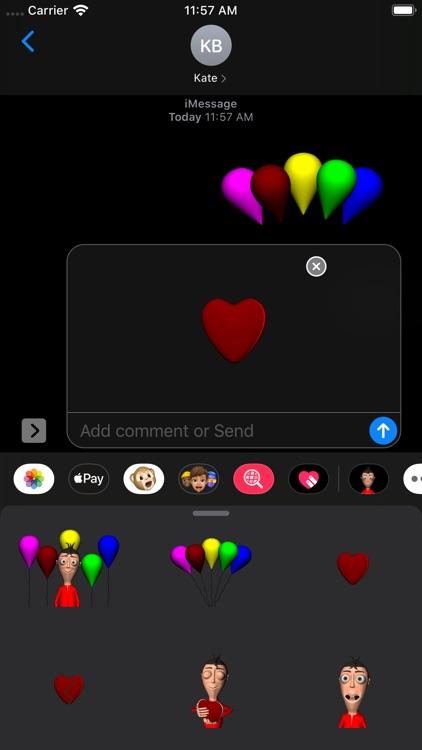 Mateo Stickers screenshot-7