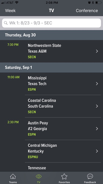 download College Football App apps 2