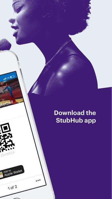 StubHub - Buy & Sell Tickets app image