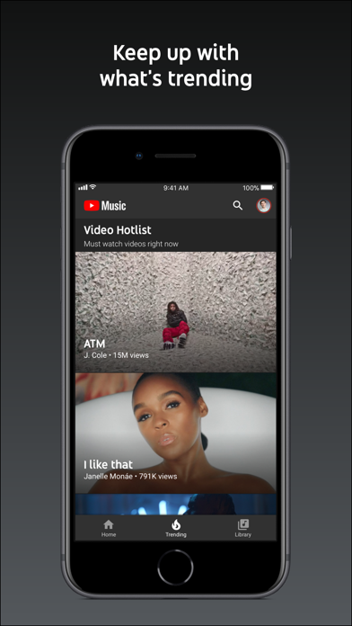 download YouTube Music apps 3