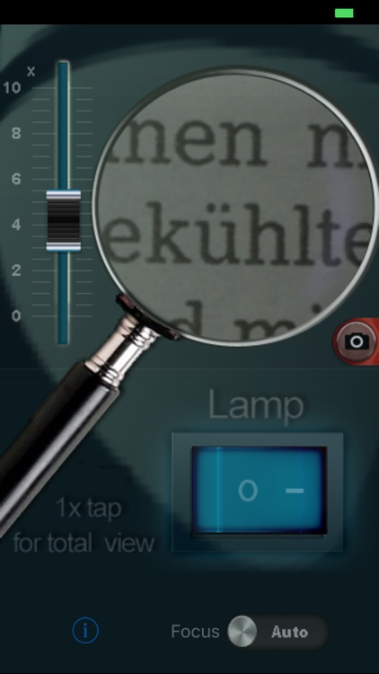 Magnifier with light+zoom