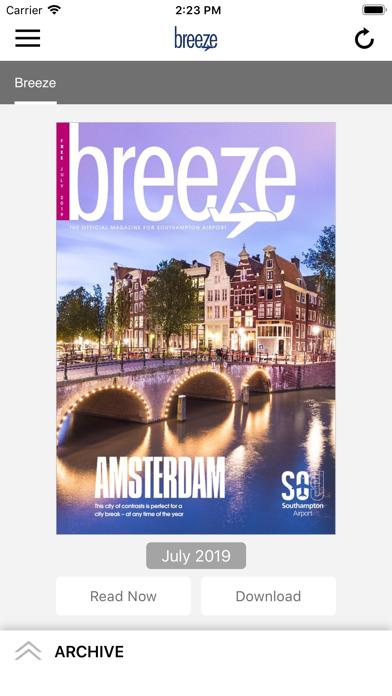 Breeze MagazineScreenshot of 1