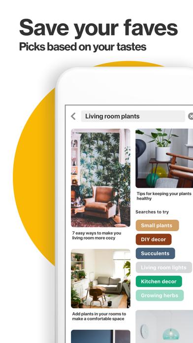 Screenshot for Pinterest in Ukraine App Store