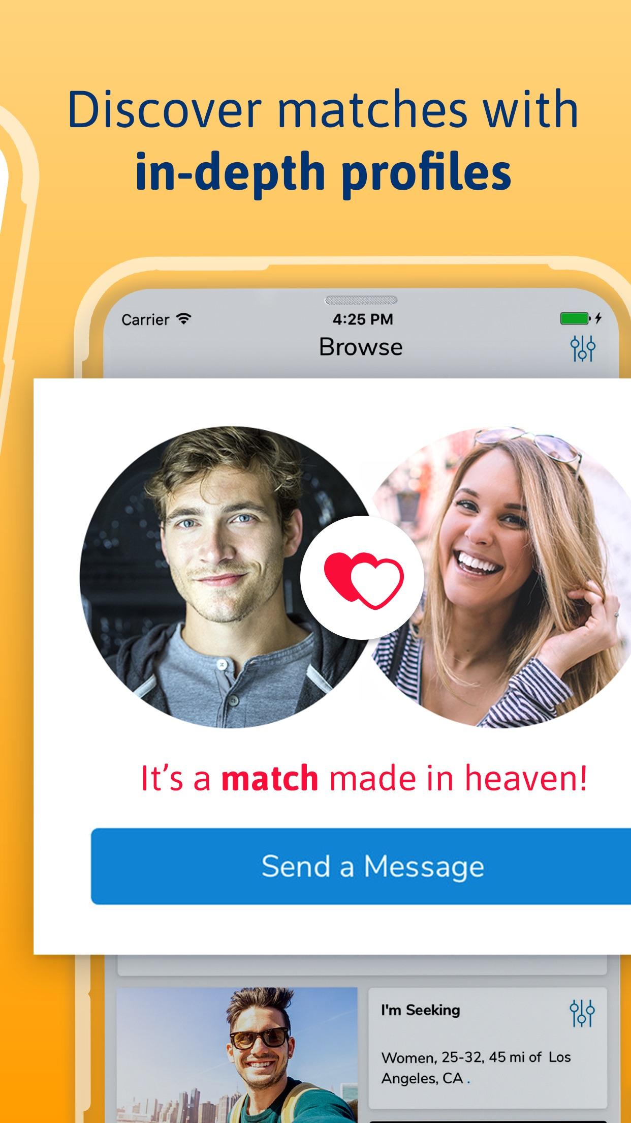 Christian Mingle: Dating App Screenshot