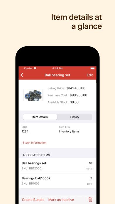 Inventory App - Zoho InventoryScreenshot of 5