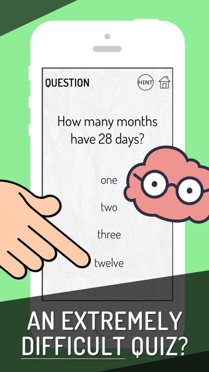 Genius Brain Test: Tricky Quiz