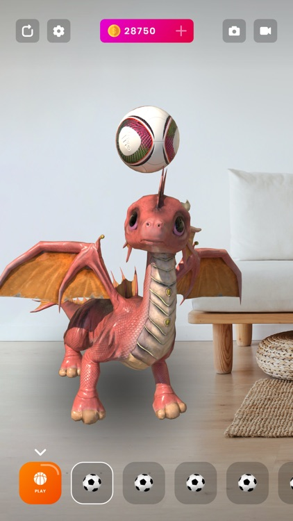 AR Dragons - Augmented Pets