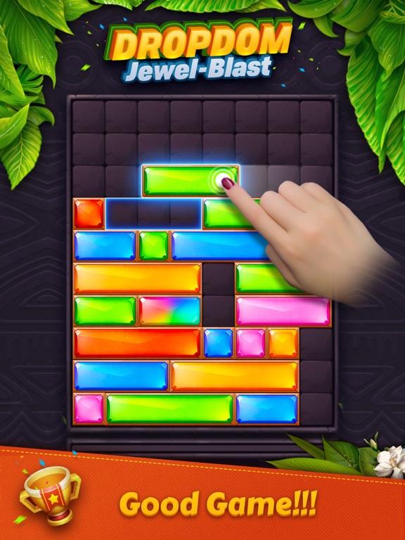 Dropdom™ Puzzle Block Jewel на iPad