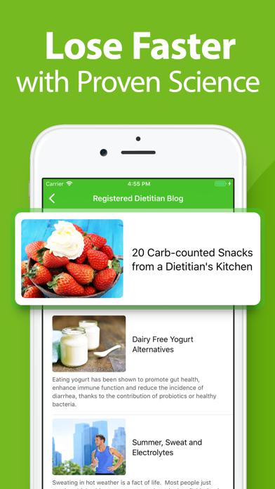 Calorie Counter - MyNetDiary Screenshot