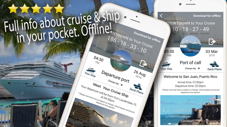 Cruise Itinerary App. CruiseBe screenshot-6