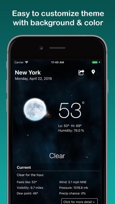 Weather Widget & Radar Screenshot