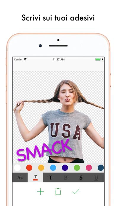 Screenshot for Top Adesivi Sticker Maker in Italy App Store