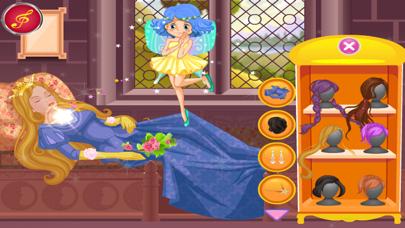 لعبة أزياء مشهد الجميلة النائملقطة شاشة3