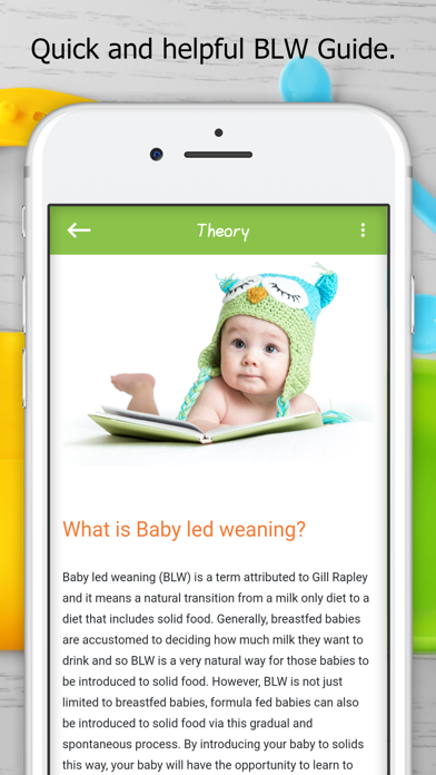 Baby Led Weaning Guide RecipesScreenshot of 7