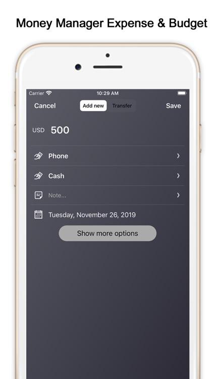 MoMa - Personal Money Manager screenshot-3