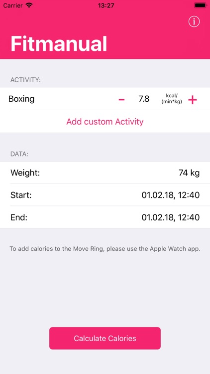 Fitmanual - Save your Activity screenshot-0
