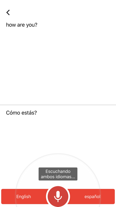 Screenshot for Traductor de Google in Spain App Store