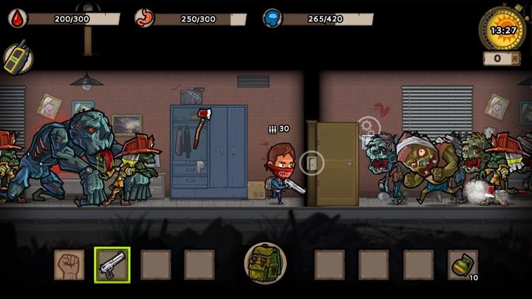 幸存者危城-末日生存僵尸游戏 screenshot-3