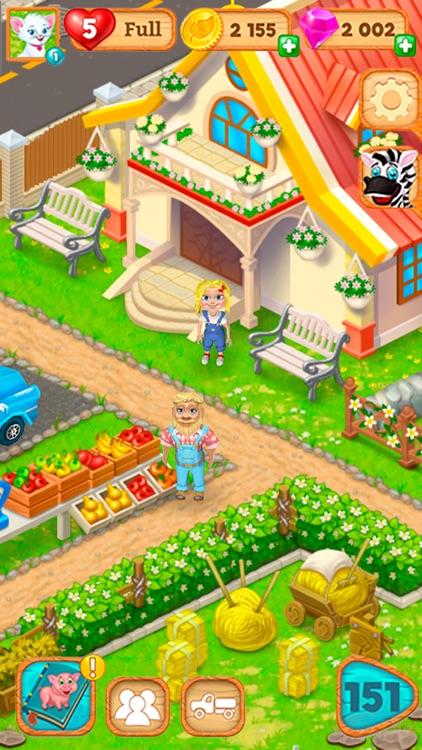 Granny's Farm: Match-3 Game screenshot-4