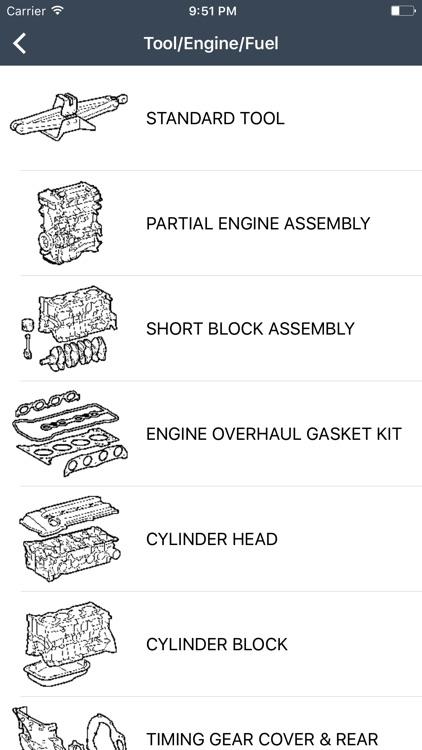Toyota, Lexus Car Parts screenshot-3