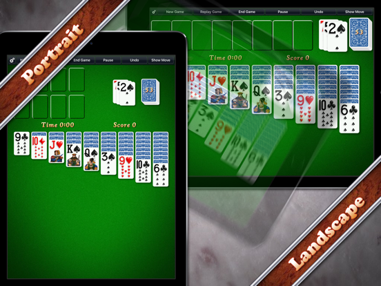 Ipad Screen Shot Solitaire City 1