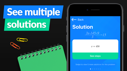 SnapCalc - Math Problem Solver Screenshot