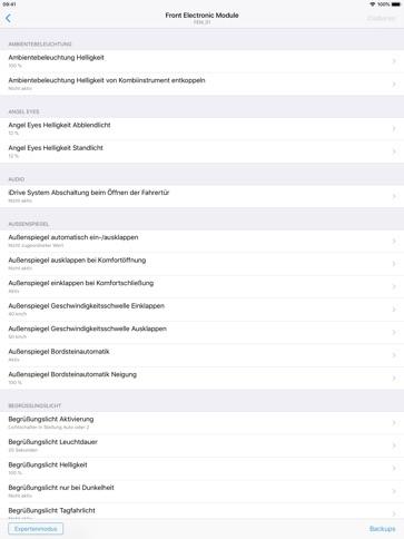 BimmerCode für BMW und Mini - iPad App - iTunes Deutschland | Chartoo