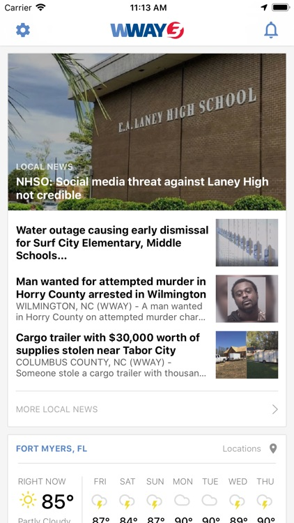 WWAY NEWS