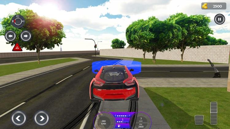 Modern City Traffic Car Drive screenshot-3