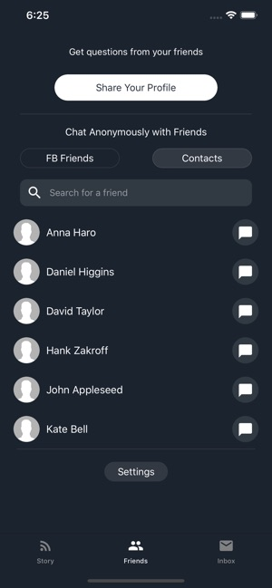 Profoundly: Anonymous Chats on the App Store