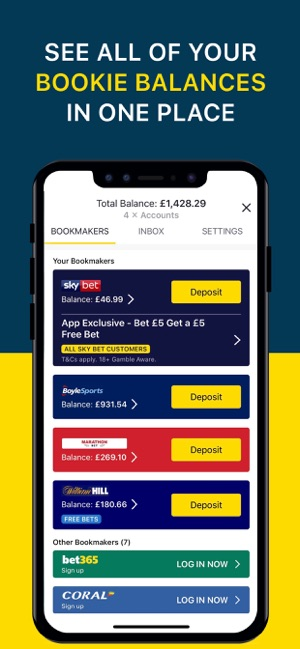 Oddschecker Sports Betting on the App Store