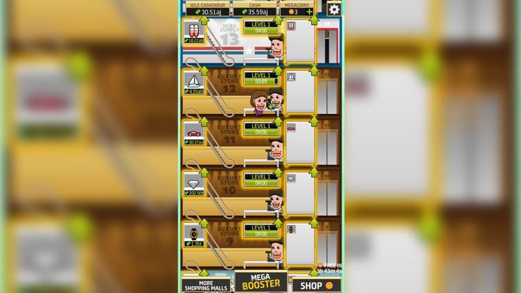 Idle Shopping: The Money Mall screenshot-7