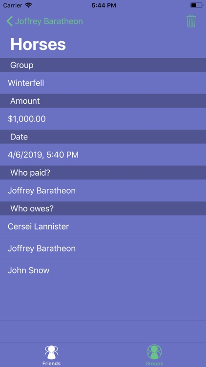 MoneySplit - Share Expenses screenshot-3