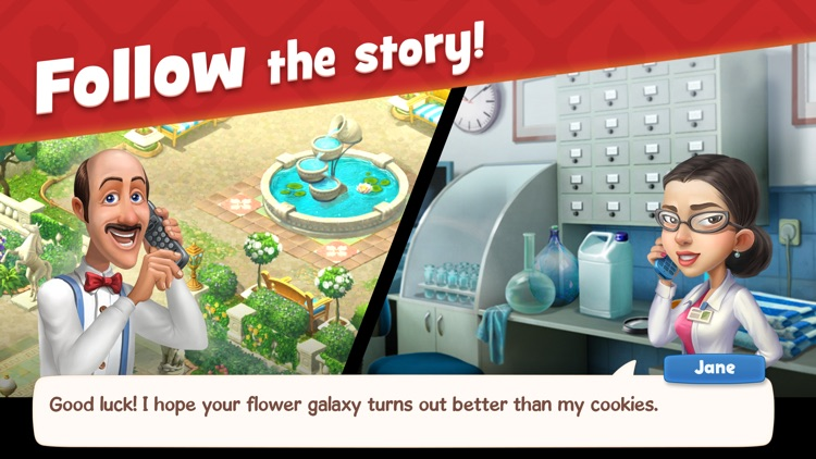 Gardenscapes screenshot-3