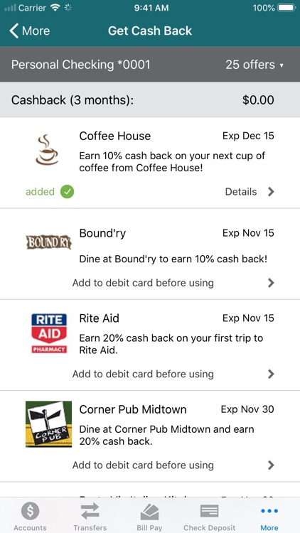 Horizon CU Mobile Banking screenshot-6