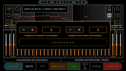 iEQ Pro MX Screenshot