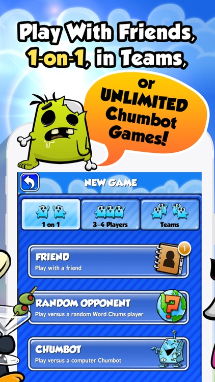 Word Chums screenshot-1