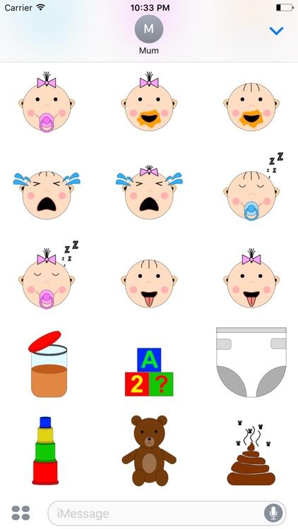 Baby Accessories Sticker screenshot-3