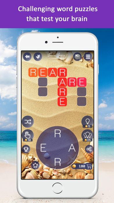 Word Beach: Fun Spelling Games screenshot four