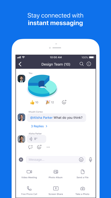 ZOOM Cloud Meetings app image