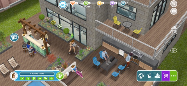 Stupendous The Sims Freeplay On The App Store Download Free Architecture Designs Viewormadebymaigaardcom