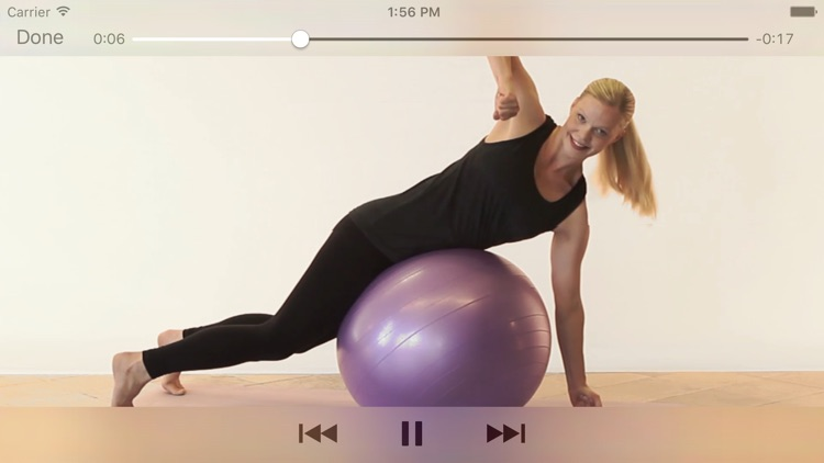 Training ball & exercise band screenshot-3