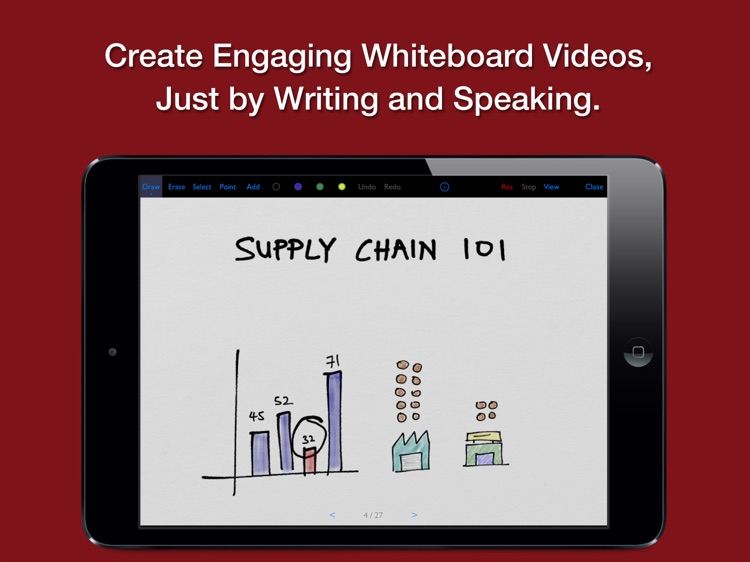 Vittle: Smart Whiteboard Video screenshot-0