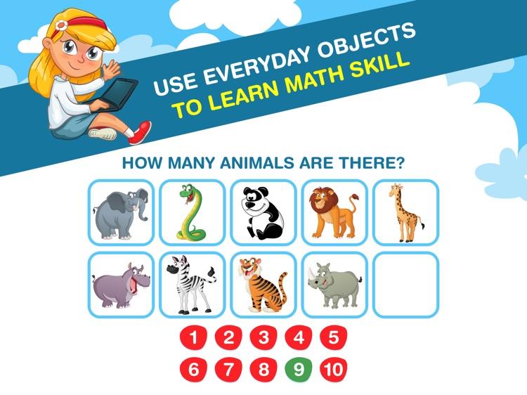 Preschool Kids Math Learning