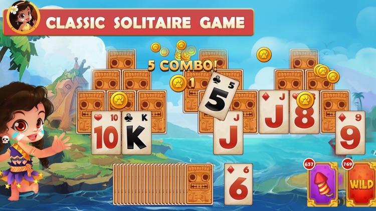 Solitaire - Island Adventure screenshot-0