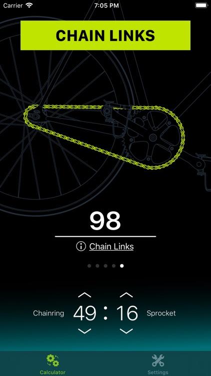 Chainring: Gear Ratio Calc screenshot-5