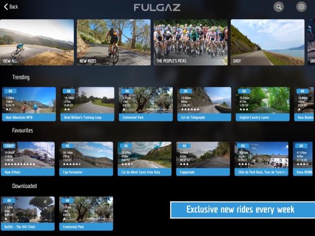FulGaz Video Cycling App na App Store