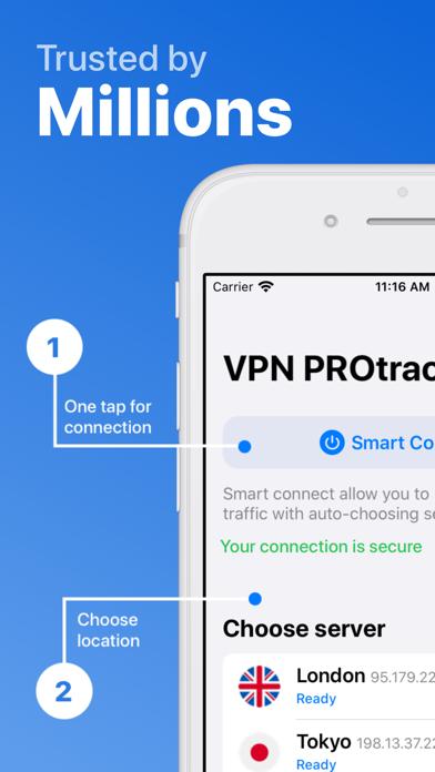 VPN PROtrack. Complete protectのおすすめ画像1