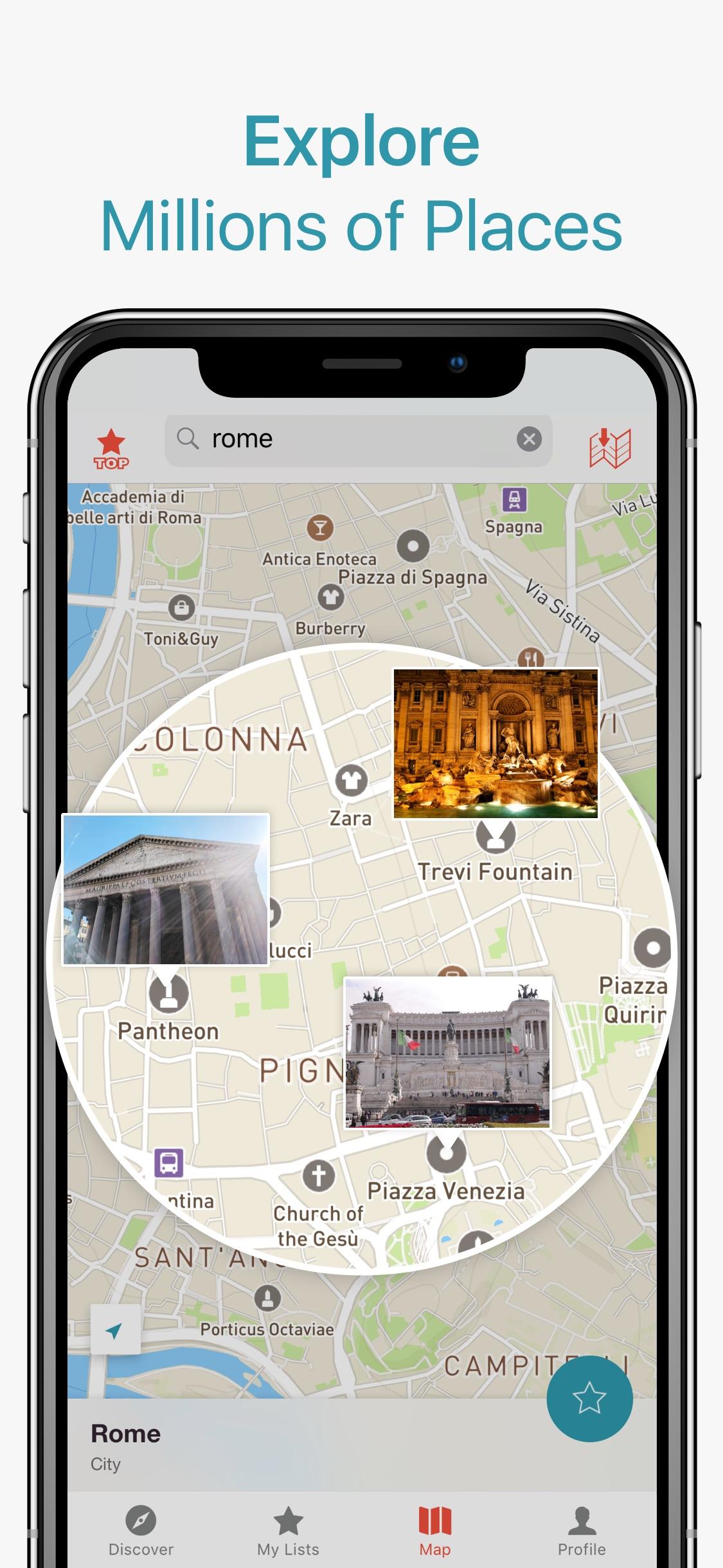 Screenshot do app CityMaps2Go Pro  Offline Maps