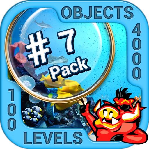 Pack 7 - 10 in 1 Hidden Object